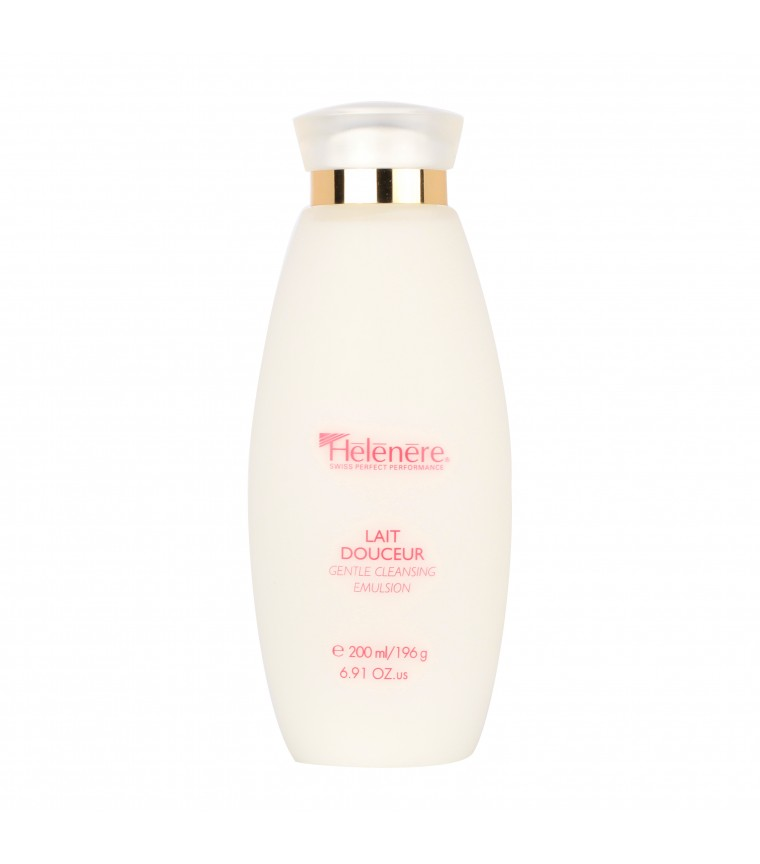 GENTLE CLEANSING EMULSION (Y100) : This gentle emulsion based on soothing plant extracts dissolves, without irritation, all skin impurities while respecting its hydrolipidic film. Apply with light circular movements to face and neck and remove softly with cotton wools moistened with Gentle Tonic (Y101).
